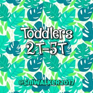 Toddler Clothing 2T-5T